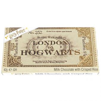 Harry Potter Platform 9 3/4 Ticket Schokolade 42g