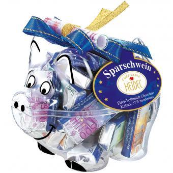 Heidel Euro-Sparschwein 60g