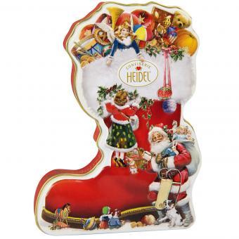 Heidel Weihnachtsstiefel Geschenkdose 118g
