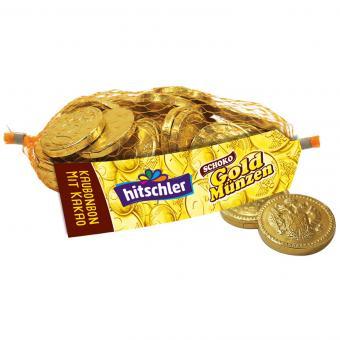 hitschler Goldmünzen Schoko 130g