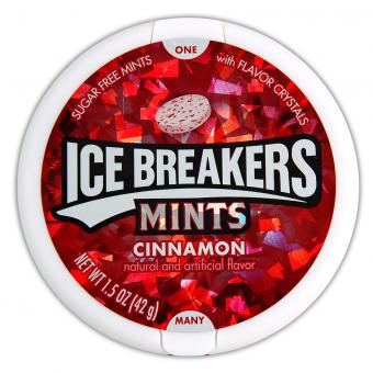 Ice Breakers Mints Cinnamon sugar-free 42g
