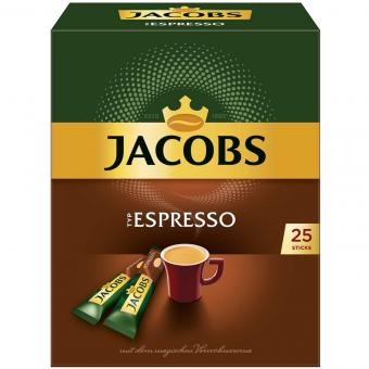 Jacobs Löskaffee Espresso Sticks 25er