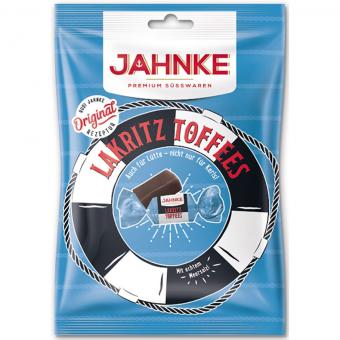 Jahnke Lakritz Toffees 125g