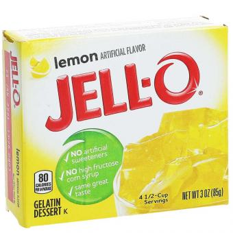 Jell-O Lemon 85g