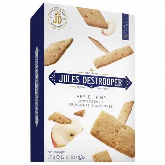 Jules Destrooper Apple Thins 67g