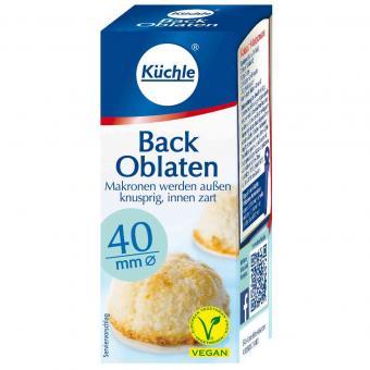 Küchle Back Oblaten 40mm 100er