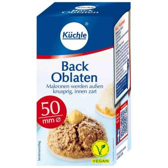 Küchle Back Oblaten 50mm 100er