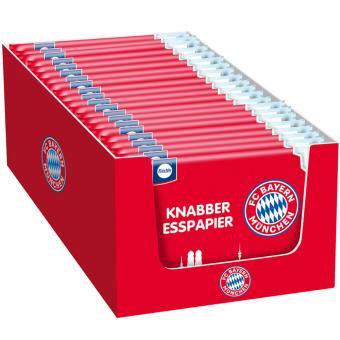 Küchle FC Bayern München Knabber-Esspapier 25x25g