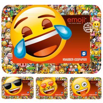 Küchle Knabber-Esspapier emoji 2x20g mit Brotdose