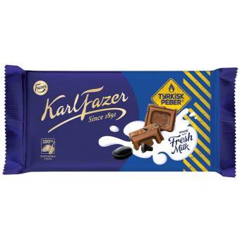 Karl Fazer Tyrkisk Peber Chocolate 145g