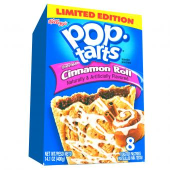 Kellogg's Pop-Tarts Frosted Cinnamon Roll 8er