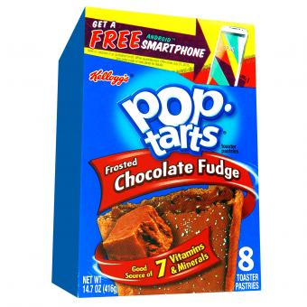 Kellogg's Pop-Tarts Frosted Chocolate Fudge 8er
