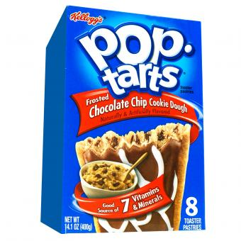 Kellogg's Pop-Tarts Frosted Chocolate Chip Cookie Dough 8er