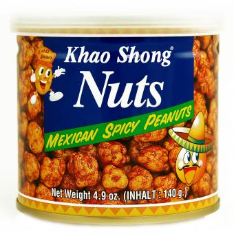Khao Shong Nuts Mexican Spicy Peanuts 185g