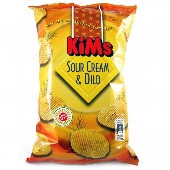KiMs Sour Cream & Dild 175g
