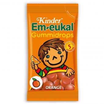 Kinder Em-eukal Gummidrops Orange 75g