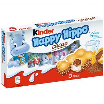 kinder Happy Hippo Cacao 5er