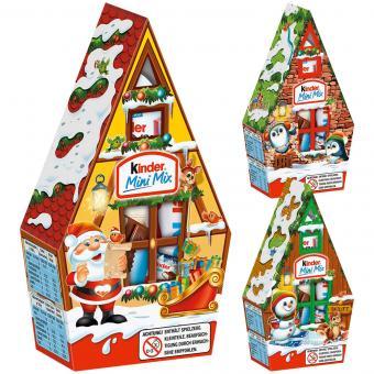 kinder Mini Mix Weihnachtshäuschen 76g
