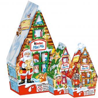 kinder Mini Mix Weihnachtshäuschen 79g