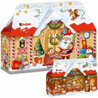 kinder Mix Adventskalender 3D-Haus