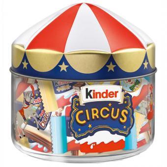 kinder Mix Circus Zirkusglas 116g