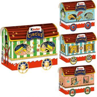 kinder Mix Circus Zirkuswagen 133g