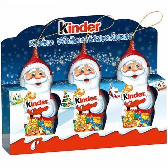 kinder Schokolade Kleine Weihnachtsmänner 3x15g