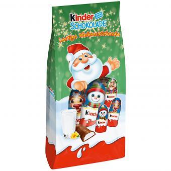 kinder Schokolade Lustige Weihnachtsbande 102g