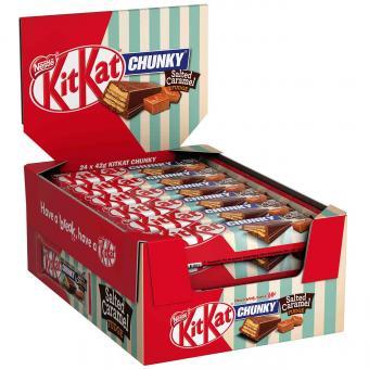KitKat Chunky Salted Caramel Fudge 24x42g
