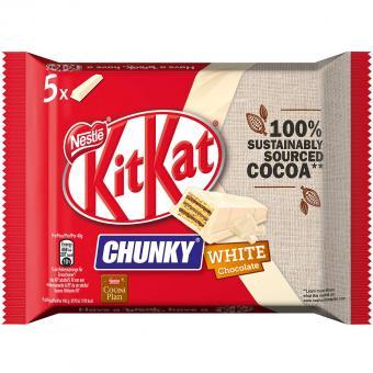 KitKat Chunky White 5er