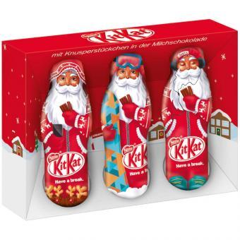 KitKat Mini-Weihnachtsmänner 3x20g