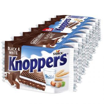 Knoppers Black & White 8er