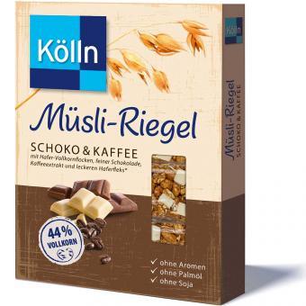 Kölln Müsli-Riegel Schoko & Kaffee 4×25g