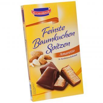 Kuchenmeister Feinste Baumkuchenspitzen Amaretto 125g