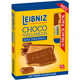 Leibniz Choco Vollmilch Snack Pack 110g