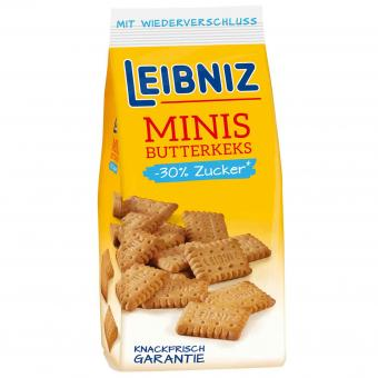 Leibniz Minis Butterkeks -30% Zucker 125g