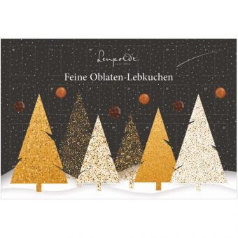 Leupoldt Feine Oblaten-Lebkuchen Adventskalender