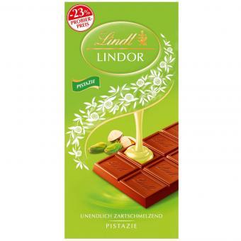 Lindt Lindor Pistazie 100g Probierpreis -23%