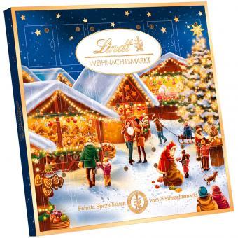 Lindt Weihnachtsmarkt Mini Tisch Adventskalender