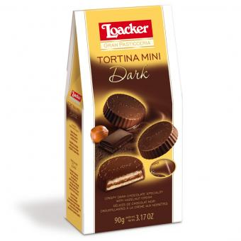 Loacker Gran Pasticceria Tortina Mini Dark 90g
