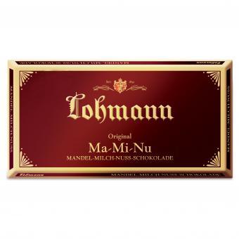 Lohmann Ma-Mi-Nu Mandel-Milch-Nuss-Schokolade 100g