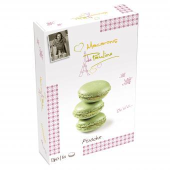 Macarons de Pauline Pistache 72g