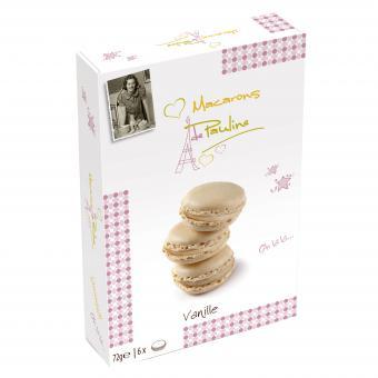 Macarons de Pauline Vanille 72g