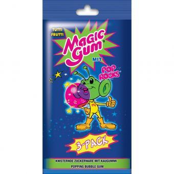 Magic Gum Pop Rocks Tutti Frutti 3er