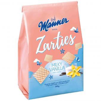 Manner Zarties Milky Vanilla 200g