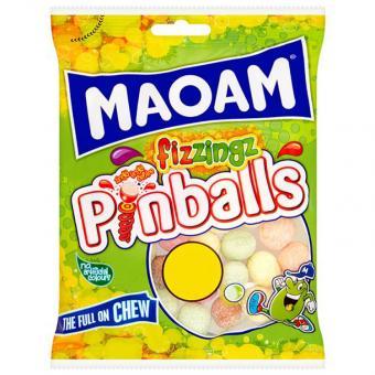 Maoam Pinballs fizzingz 160g