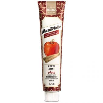 Marmetube Apfel Zimt 220g