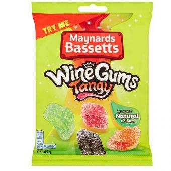 Maynards Bassetts WineGums Tangy 165g