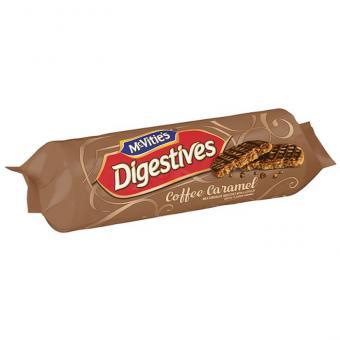 McVitie's Digestive Coffee Caramel 267g