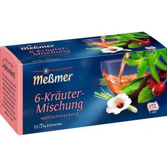 Meßmer 6-Kräuter-Mischung 25er